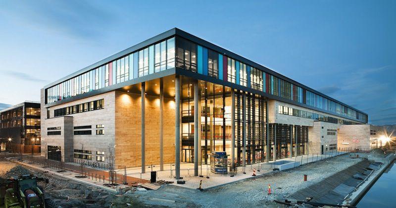 A Thoroughly Sophisticated Scandinavian School By Link Arkitektur The Fox Is Black School Architecture Education Architecture Architecture