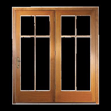 Pella 450 Series Center Hinged Patio Door Pella House