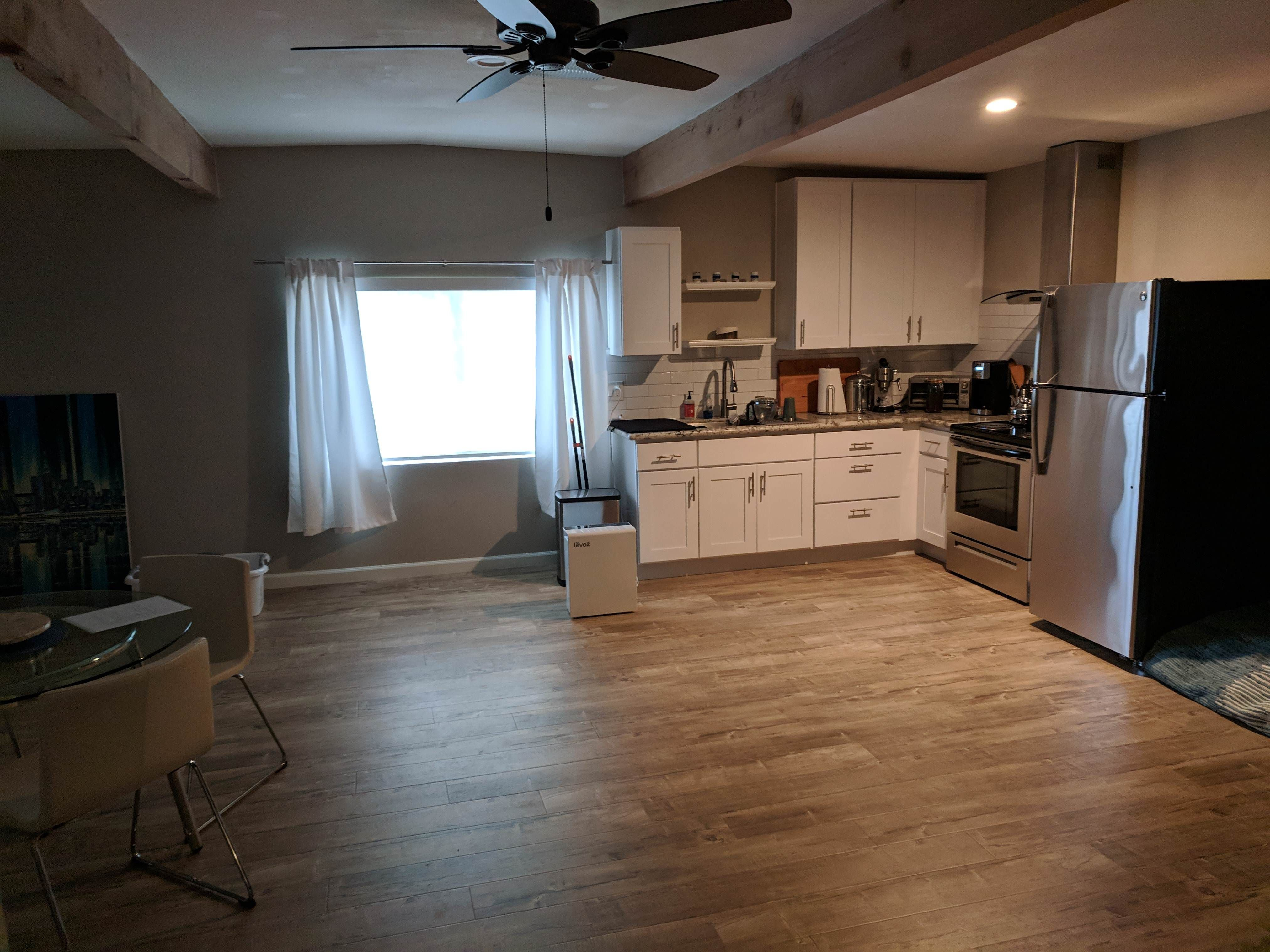 Thoughts on making this empty kitchen a nicer place? https ...