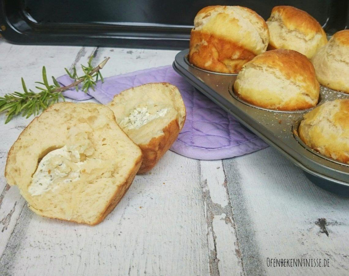 Laugenbrötchen/-muffins (gefüllt)