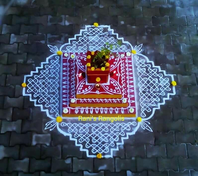 Pin by dhanabagyam kamalesh on my kolam rangoli designs