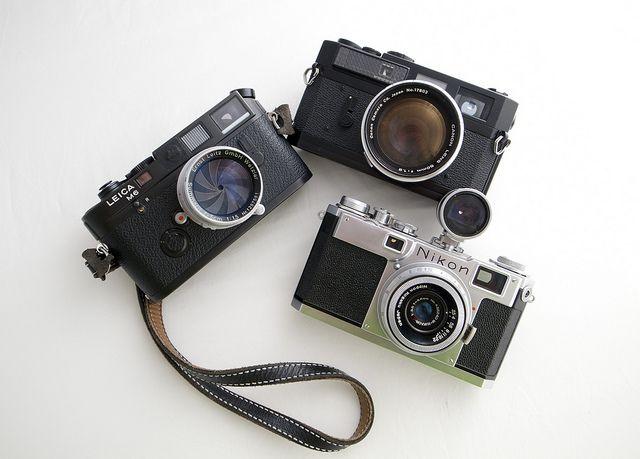 My rangefinders | Cameras | Camera, Vintage cameras
