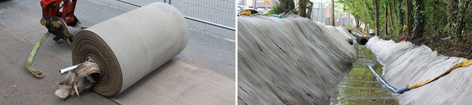 Fire Resistant Concrete Mix : Concrete canvas cc is a flexible impregnated