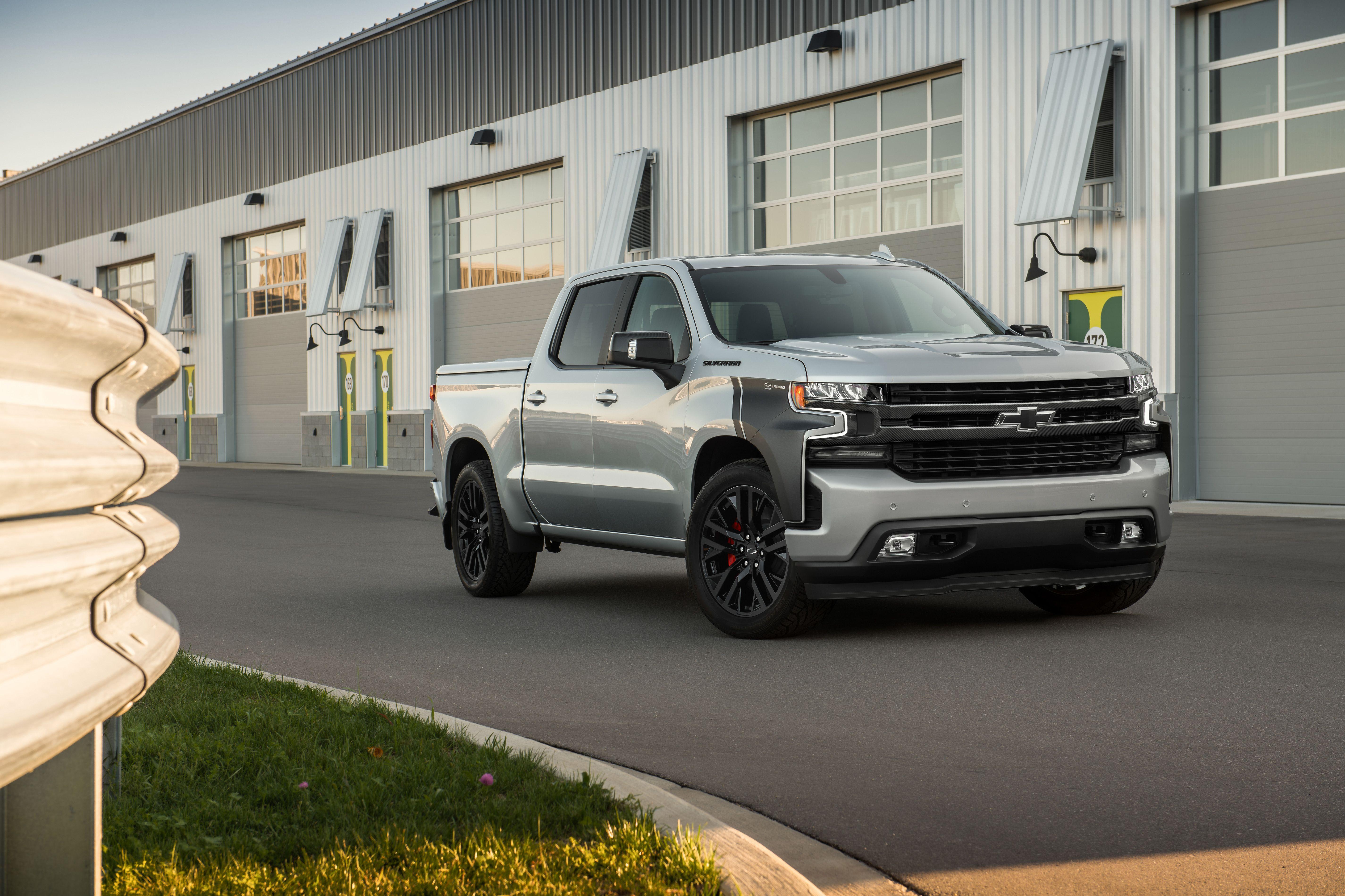 2018 Chevrolet Silverado Rst Street Concept Chevy Trucks