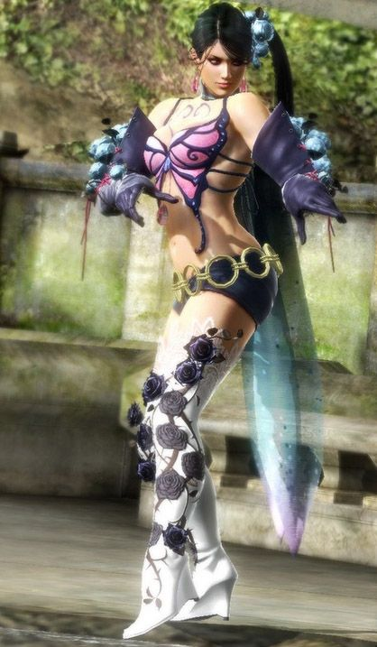 Zafina The Middle Eastern Fighter From Tekken 6 And Tekken 6