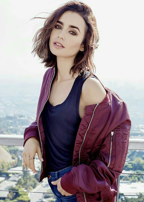 Faces 1.o - Lily Collins #hollywoodmen
