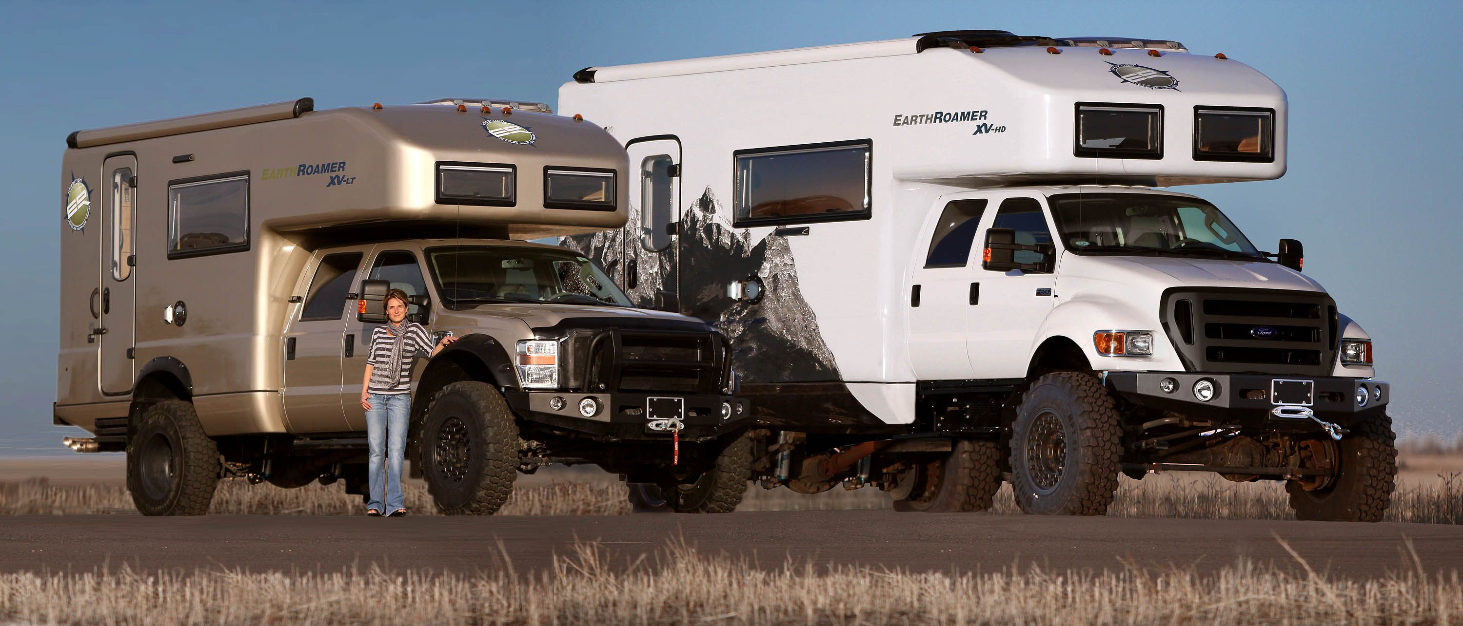 EarthRoamer     One cool a$$ off-road mobile home for the