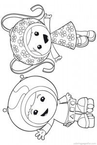team umizoomi coloring pages 6 party pinterest birthdays bday