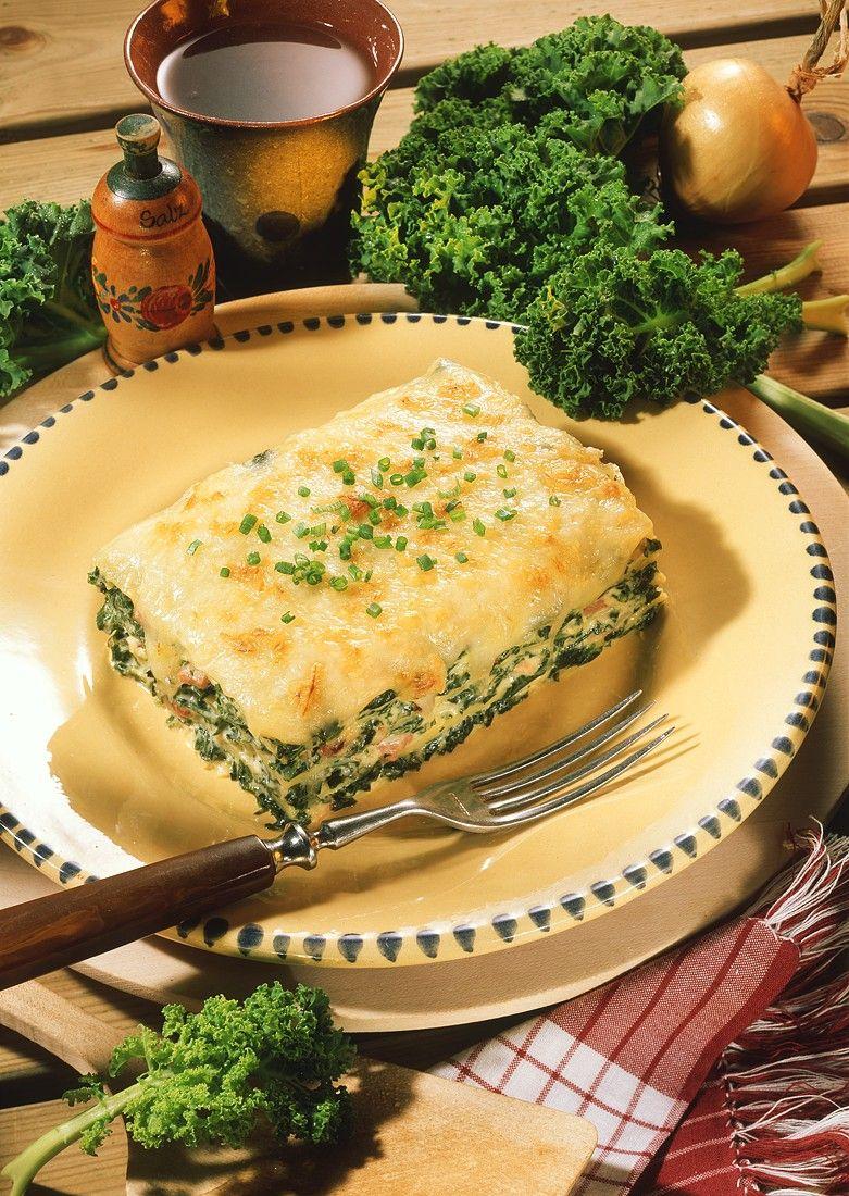 gr nkohl lasagne rezept gr nkohl lasagne und gruenkohl. Black Bedroom Furniture Sets. Home Design Ideas