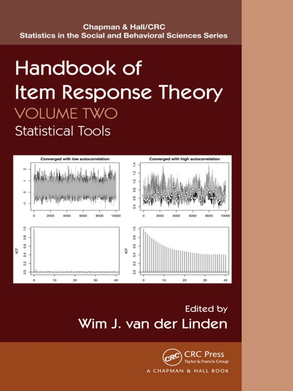 Handbook Of Item Response Theory Volume Two Ebook Rental
