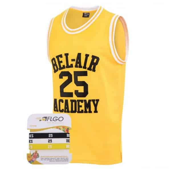 Carlton Banks The Fresh Prince of BelAir 25 Academy Jersey  Highquality stitched Lettering  Numbering  100 Polyester Durable Breathable Quick dry  Shipping Free within 24...