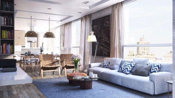 21 idées pour décorer votre salon Salons, Living rooms and Future