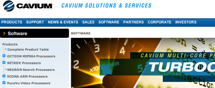 Cavium: Positioning a New Service Line | Hinge