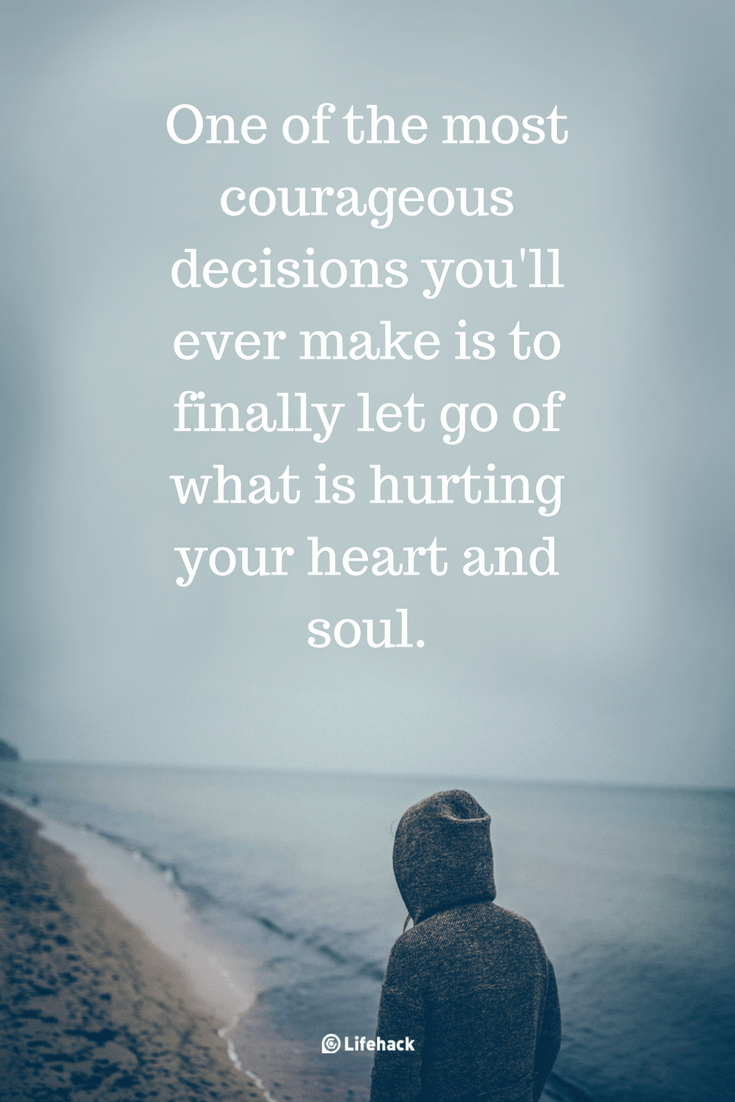 25 Letting Go Quotes That Help You Through the Tough