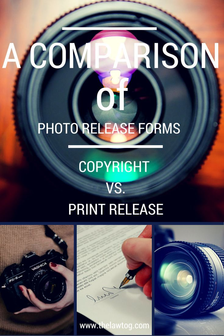 Photo Release Forms  Photography Business Photography And