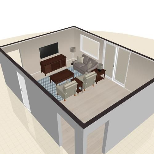 See The Room Creation I Designed With The La Z Boy 3D Room Planner