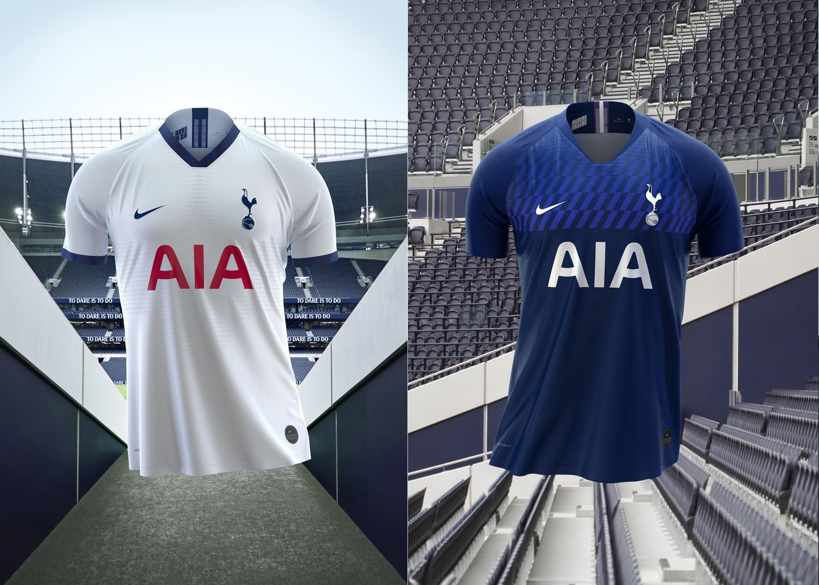 Tottenham Hotspur Launch 201920 Home & Away Kits
