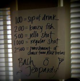 Posh Meets Pavement: Bachelorette Party Games