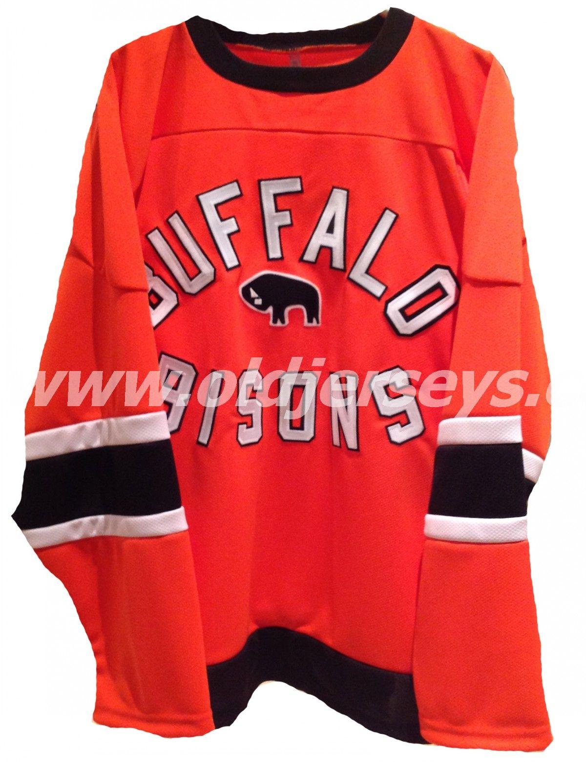 Buffalo Bisons International Hockey League Replica Hockey Jersey Hockey Clothes Sports Uniforms Hockey Jersey [ 1561 x 1200 Pixel ]