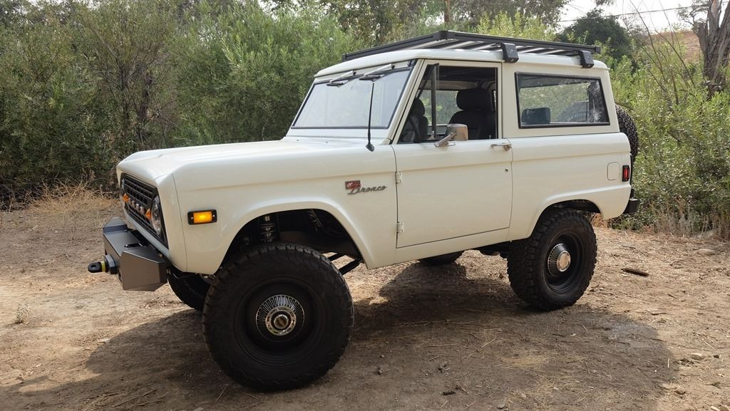Ford Bronco 1966-'77 Roof Rack by LabRak | Bronco ...