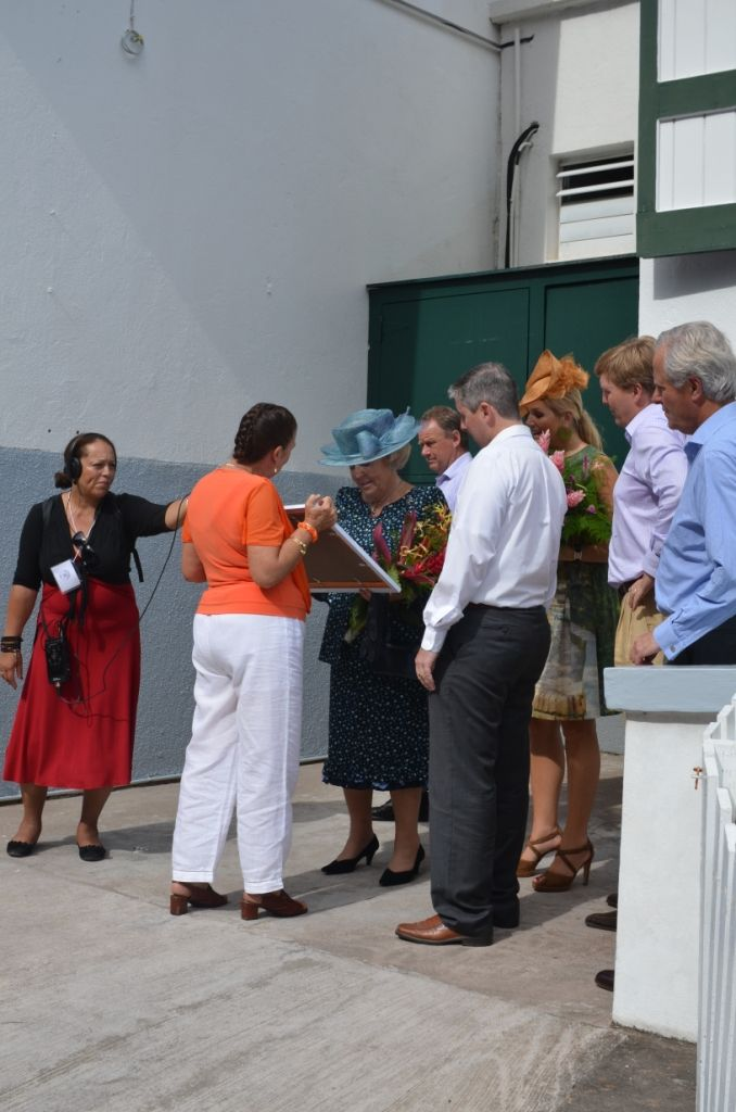 Visit Of The Dutch Royal Family To The Hon. Henry Every