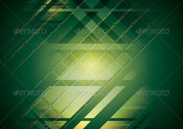 Bright green hi-tech background. Vector design