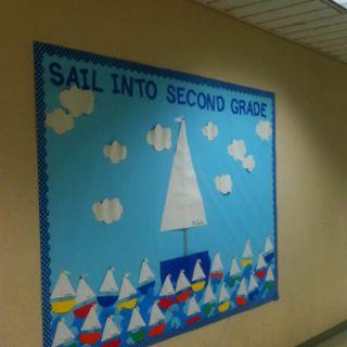 Sail into Second Grade