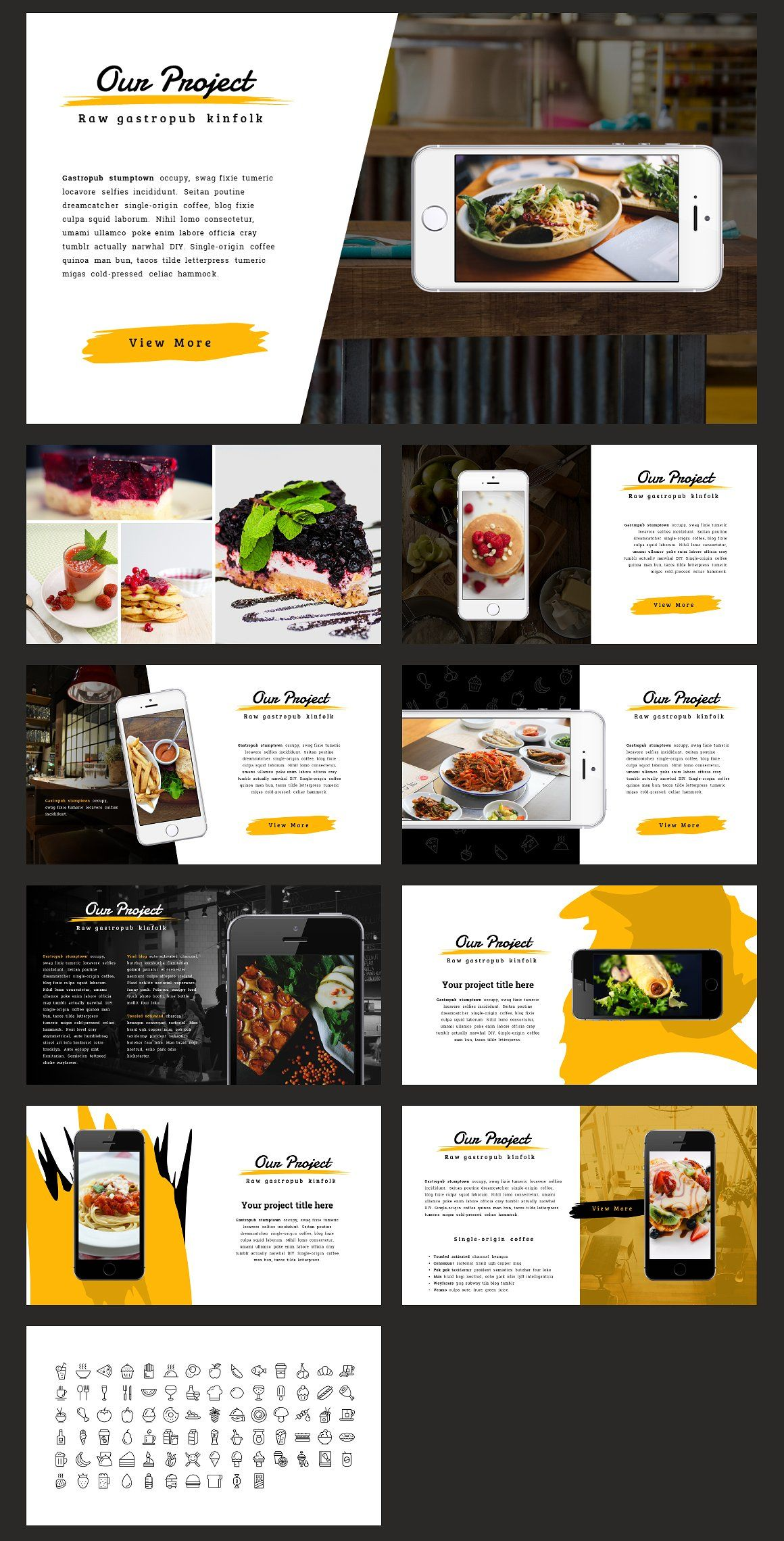 Piquant Powerpoint Template By Thrivisualy On Creativemarket