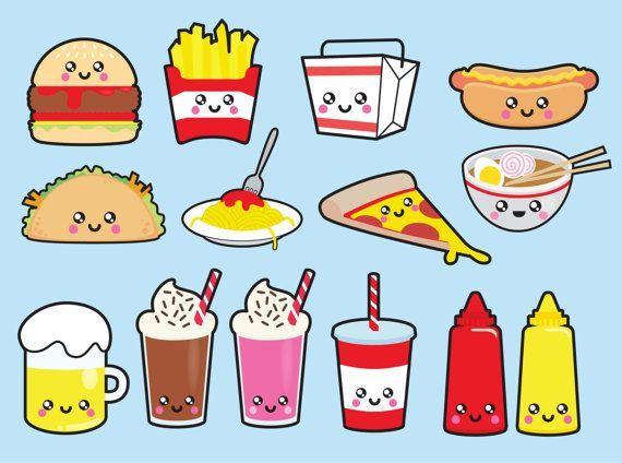Kawaii Food Pegatinas Kawaii Dibujos Kawaii Dibujos Bonitos