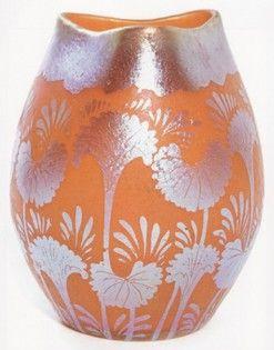 Loetz Glass Vase, Art Nouveau