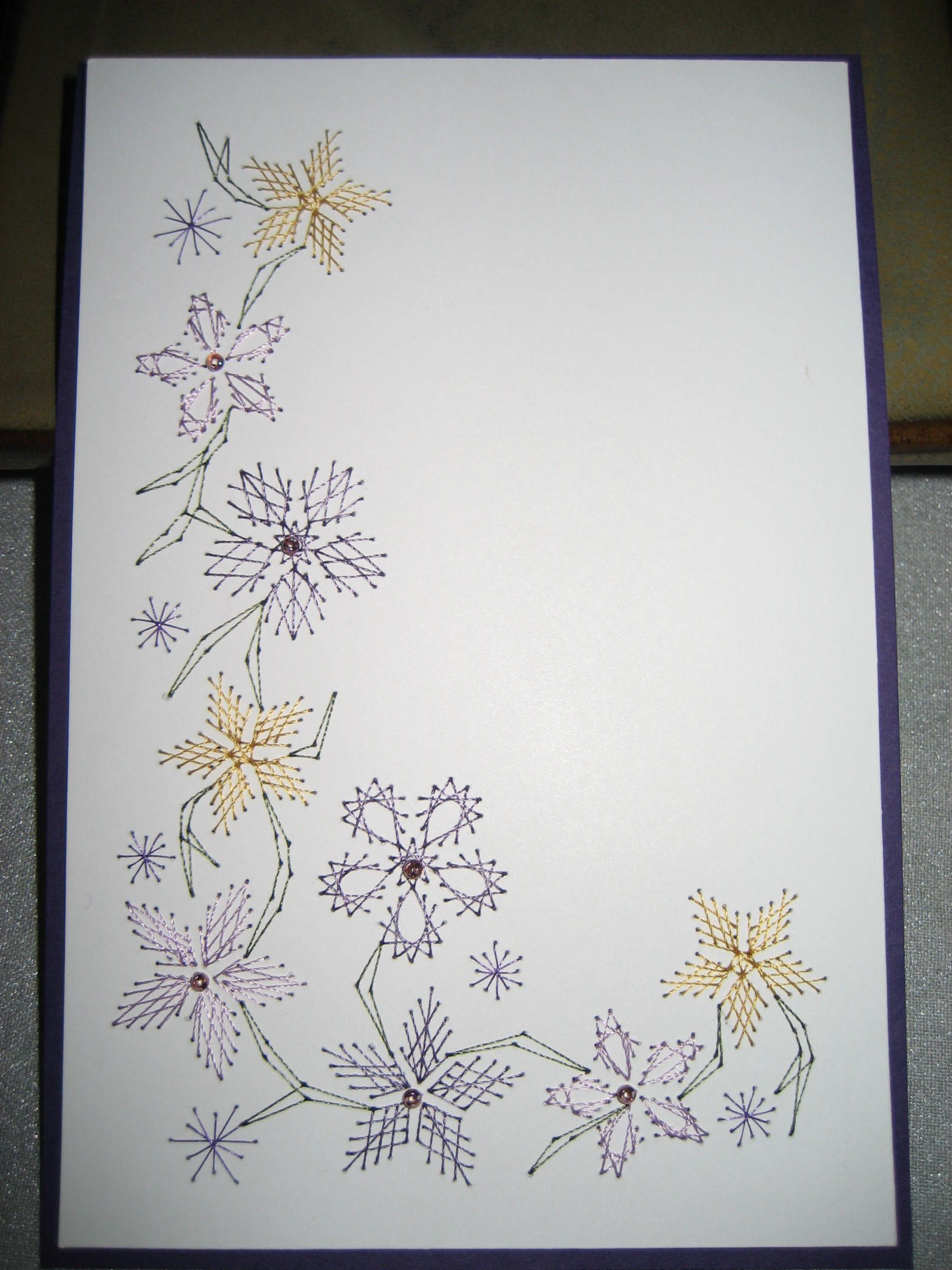 Embroidery on paper by lynn pattern in booklet