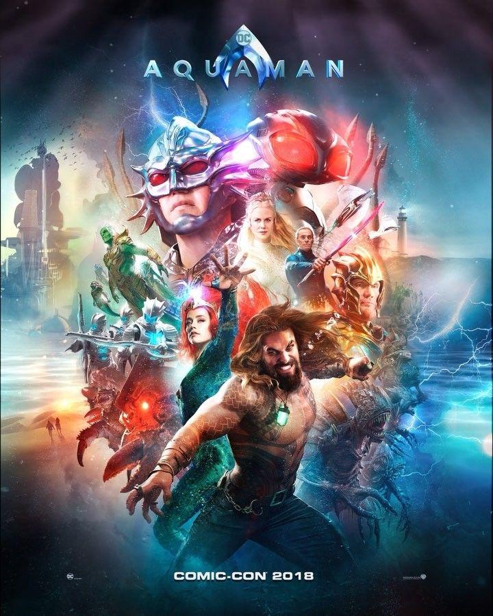 """Aquaman Movie on Instagram """"Bringing adventure to life."""