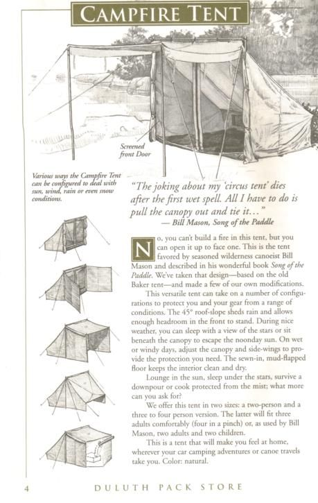 Family Canoe Camping tents? UPDATE | Bushcraft USA Forums