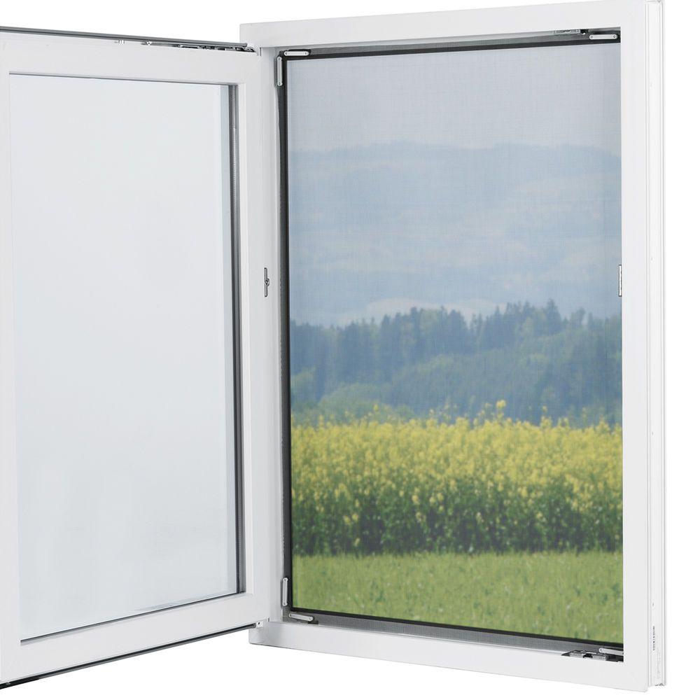 details zu easymaxx fenster moskitonetz magnetbefestigung 150x130cm