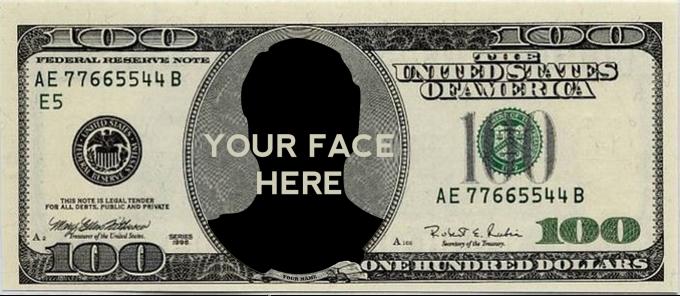 Amh2016 I Will Create A Custom 100 Dollar Bill For 5 On Fiverr Com 100 Dollar Bill Dollar Dollar Bill