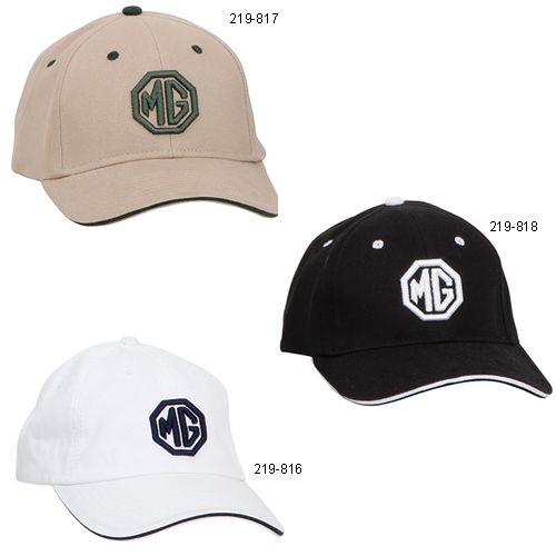 Mg Puff Embroidered Hats British Sports Car Apparel