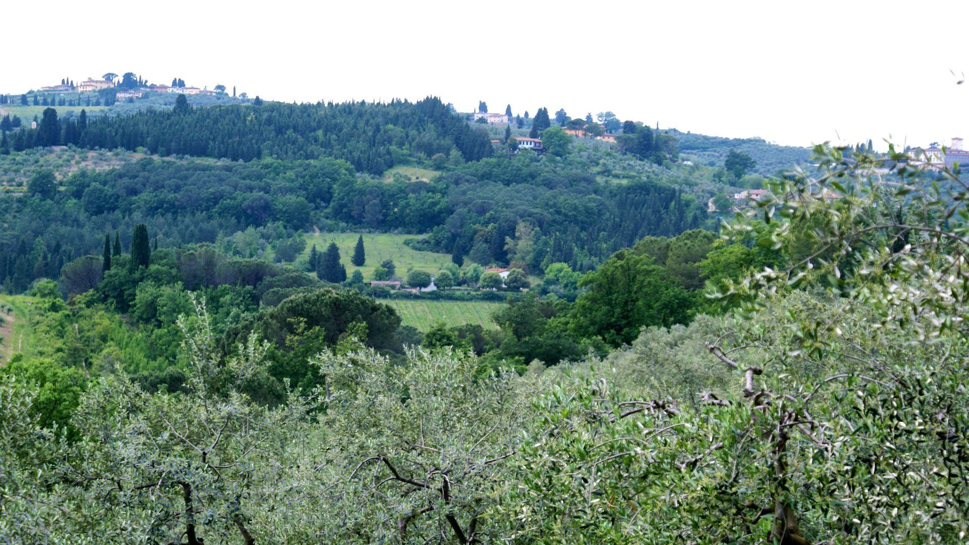 Firenze verso le colline di Bagno a Ripoli | Italia | Pinterest ...