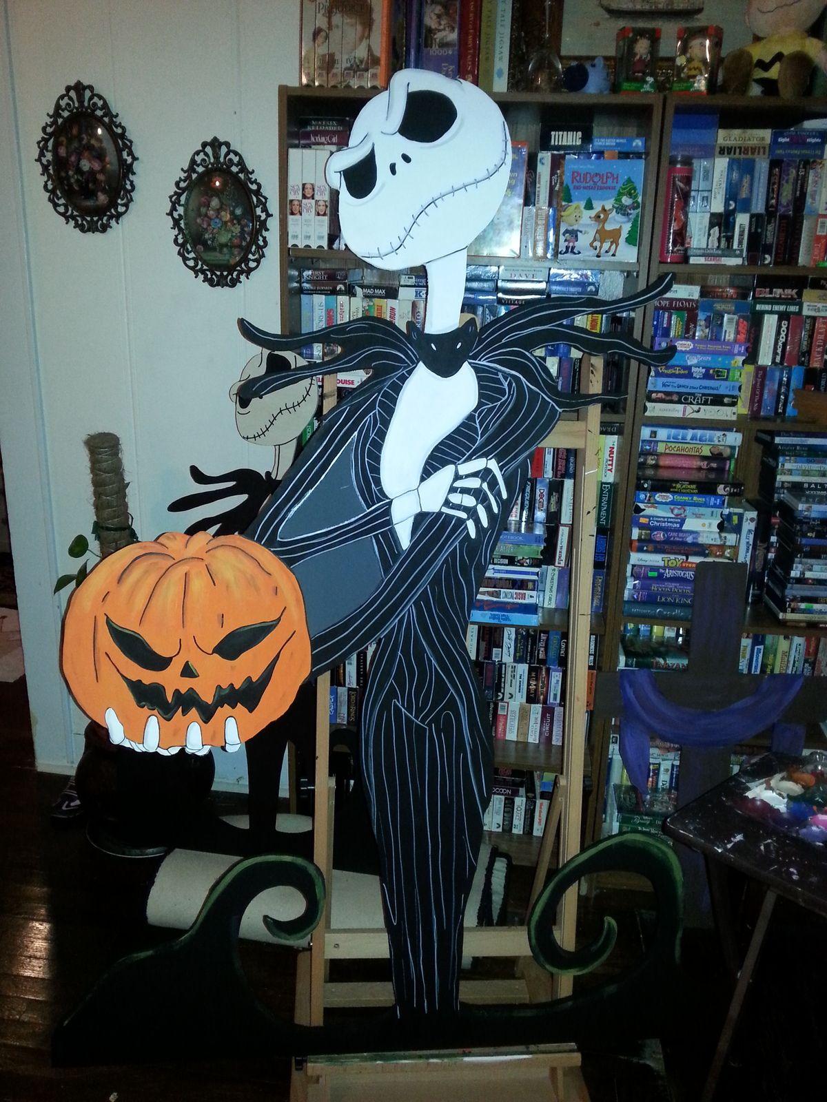 Jack Skeleton Nightmare before Christmas Halloween Yard