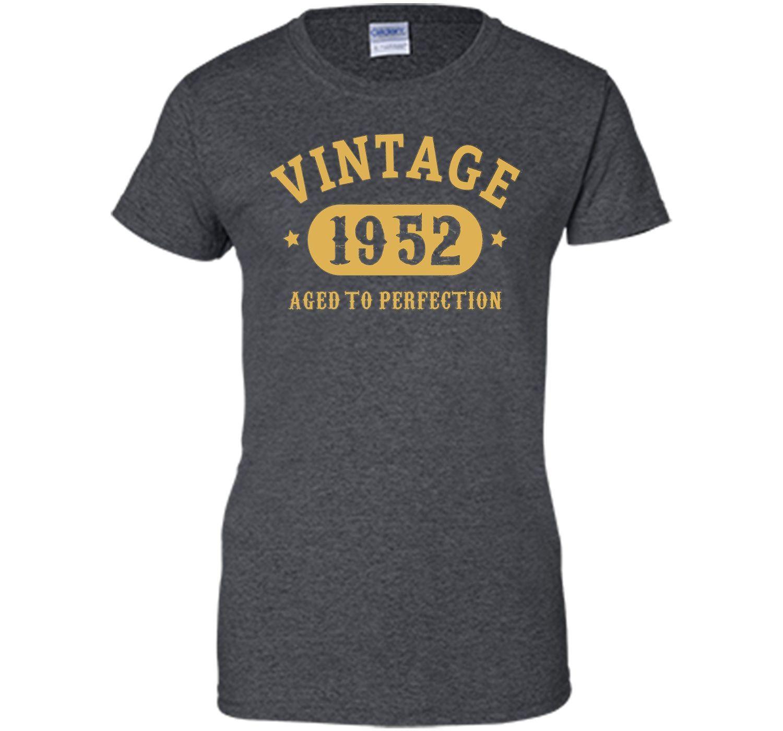 65th birthday bday gift 65 years old 1952 tshirt