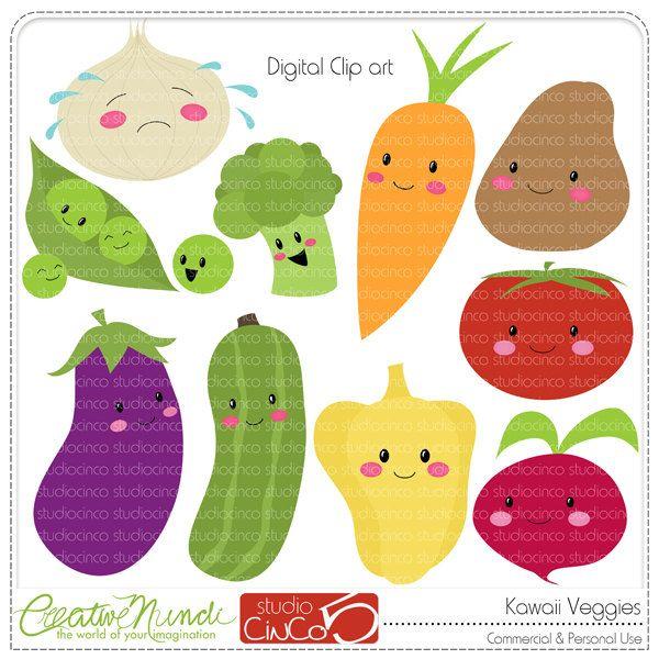 Kawaii Veggies