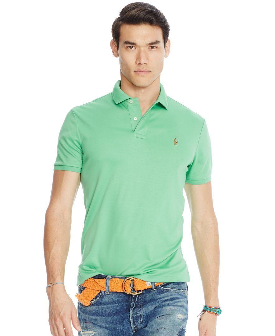 Polo Ralph Lauren Pima Cotton Polo Shirt  3a02b66876f