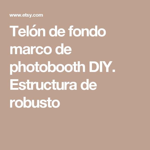 Backdrop Frame, DIY photobooth frame. Sturdy 1\