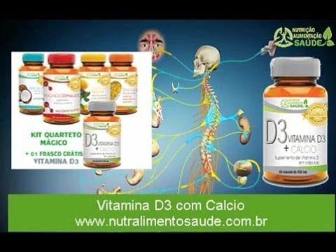 (100) Vitamina D3 prevenção contra câncer suplementação nutralimentosaude - YouTube