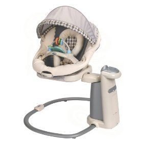 Graco Sweetpeace Newborn Soothing Center Baby Swing