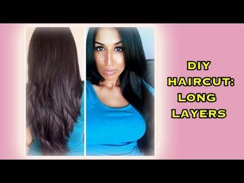 DIY Haircut – Long Layers (for all hair types)