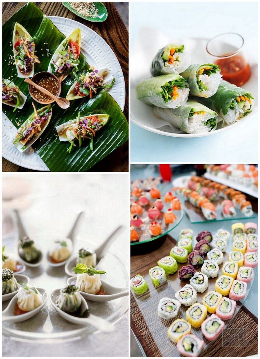 15 Wedding Food Stations Your Guests Will Love Buffet Food