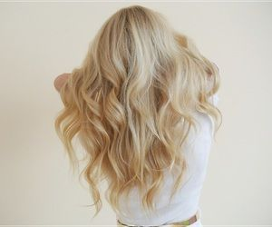 Curly Blonde Hair Back View Briar Rose Aurora Pink