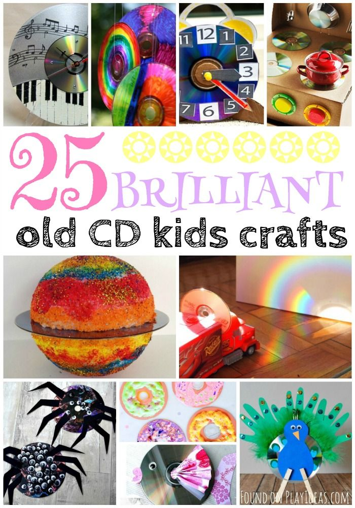 25 Brilliant Recycled Cd Kid Crafts Fun At Work Ideas Cd Crafts
