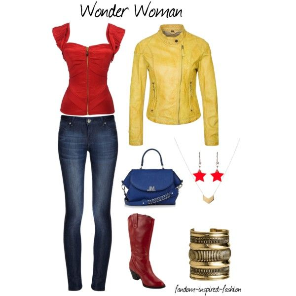 Wonder woman pants costume-3161