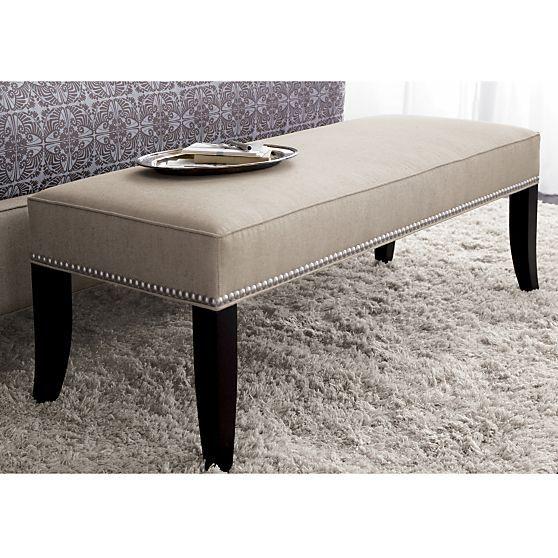 Shop Index Crate And Barrel Furniture Home Bedroom Bedroom Bench